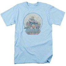 He-Man Masters of the Universe Retro 80s cartoon distressed blue t-shirt DRM267 image 1