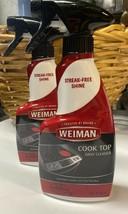 2 Weiman Cook Top Daily Cleaner Spray Bottle 12 Fl Oz - $24.99