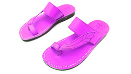 Leather Sandals for Men and Women SLEEVE by SANDALIM Biblical Greek Summ... - $39.83 CAD+