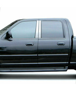 4pc Stainless Steel Pillar Post Covers for 1999-2003 Ford F-150 Super Crew - $54.99