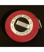 Vintage Tape Measure 50 Ft. Roe Precision Chrome, Patchogue, NY - $11.87