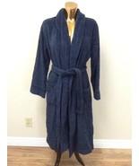 $200 Hotel Collection Finest Robe: Size M/L: Indigo - $65.10