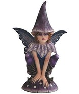 StealStreet SS-G-91588, Small Crouching Blue and Purple Elf Fairy Wearin... - $21.78