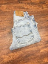 AMERICAN EAGLE Classic Straight Leg Lt Wash Blue Denim Jeans Mens Size 2... - $528,97 MXN