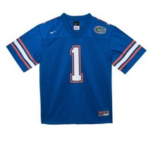 NIKE Florida Gators NCAA Youth LG 16-18 Blue Football Jersey NEW - $53.97