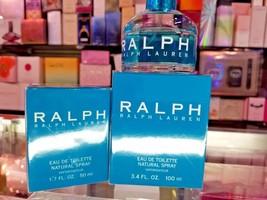 Ralph by Ralph Lauren 1.7oz 50ml 3.4 oz 100 ml EDT Toilette Perfume Wome... - $74.79+