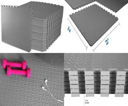 BalanceFrom Puzzle Exercise Mat with EVA Foam Interlocking Tiles - $139.15