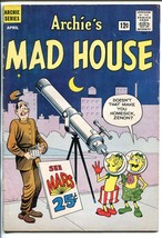 Archie's Madhouse #18 1962-SCI-FI HORROR-ROBOTS-ALIENS-NEW Format BEGINS-vg - $107.19