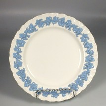"Wedgwood lavender on cream shell edge embossed queensware 8"" salad plate - $26.05"