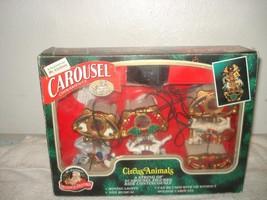 Vintage 1993 Mr. Christmas Carousel Circus Animals - $35.99