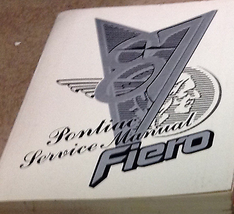 1987 PONTIAC FIERO Service Shop Repair Workshop Manual OEM - $49.45