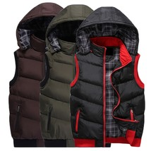 2018 New Fashion Autumn and Winter Men's Down Cotton Casual Vest Men and... - $48.96