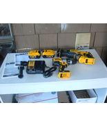 DEWALT 20V MAX XR DCD996 H-DRILL, DCS367 RECIP. SAW, (2) DCB205 5.0AH & ... - $326.80