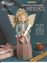 """Patience"" Heavenly Messenger Angel Plastic Canvas Pattern - $5.00"