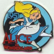 Alice in Wonderland dated 1951 Authentic Disney pin in original package ... - $29.99