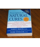 Prescription For Natural Cures   James F Balch - $17.97