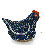 Fabric Chicken Lift Wings Egg Collecting Basket Farming Gift Farmhouse D... - $27.72