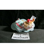 Disney Store Authentic Timothy mouse & Dumbo mini Ufufy mini plush set o... - $18.53