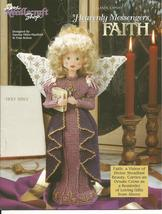 """Faith"" Heavenly Messenger Angel Plastic Canvas Pattern - $5.00"