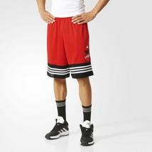 Adidas Chicago Bulls NBA Homme Short Basketball - AH5059 - Rouge - $28.83