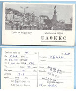 1965 Vintage Photo Postcard Vladivostok USSR QSL Card UA0KKC - $18.99