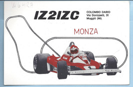 1979 Real Photo Postcard Grand Prix Award Monza Columbo Dario QSL Card I... - $18.00