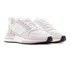 Adidas Originals ZX 500 RM Boost Mens Running Shoes Cloud White Gray B42226 image 2