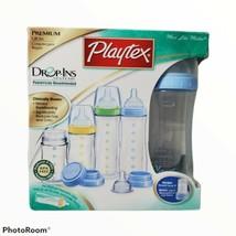 Playtex Bpa Free Premium Nurser Bottle Gift Set Drop-Ins System New In Box Nos - $39.59