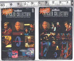 Star Trek Generations Movie 1994 Mini Stickers ... - $19.99