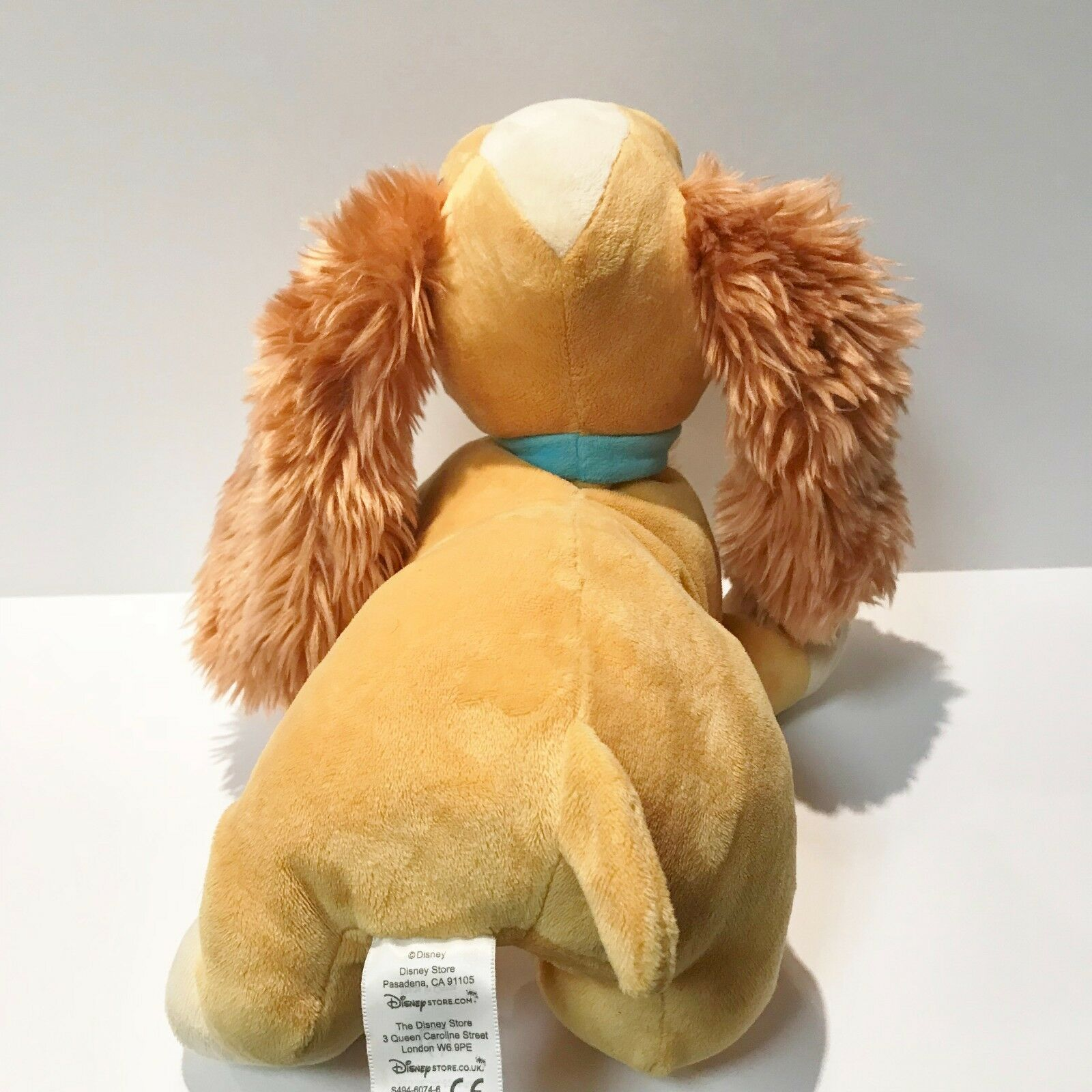 "Disney Store Lady & The Tramp Lady 12"" Cocker Spaniel Plush Dog"