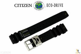 Citizen 59-L7331 22mm Original Caoutchouc Noir Bracelet de Montre Compatible - $60.41