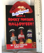 Rocky Horror Picture Show Time Warp RARE 1996 Budweiser Halloween Decora... - $34.99