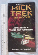 Star Trek VHS Cult Video Hick Trek a Space Satire of Trailer Park Proportions - $39.99