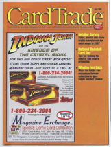 Card Trade Magazine April 2008 Indiana Jones, Women of Marvel, Houshmand... - $15.99