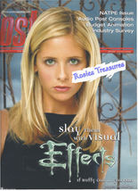 Vampire Slayer Buffy Sarah Michelle Gellar POST Production Magazine 2001... - $40.00