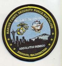 Usmc Security Forces Bangor, WA- No VELC-O Patch - $1,000.00