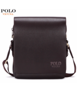 VICUNA POLO® Business Leather Men Messenger Promotional Crossbody Should... - $27.05+
