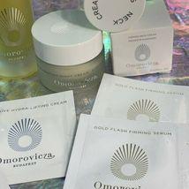 Omorovicza Lot Neck + Rejuvenating Night Cream Firming Body Oil + Blue Diamond image 4