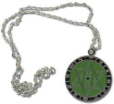 Negima: Hexagram Necklace Brand NEW! - $13.99