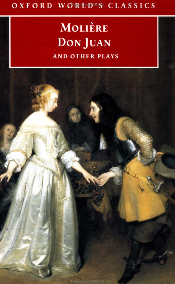 Oxford World's Classics: Don Juan By Moliere