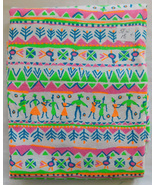 Fabric, Caribbean Island Jamaican Inspired Pattern, 58 W, Approximately ... - $7.99