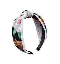 Fashionable Fabric Hoop Retro Headband Wide Edge Hairpin Headband - $11.16