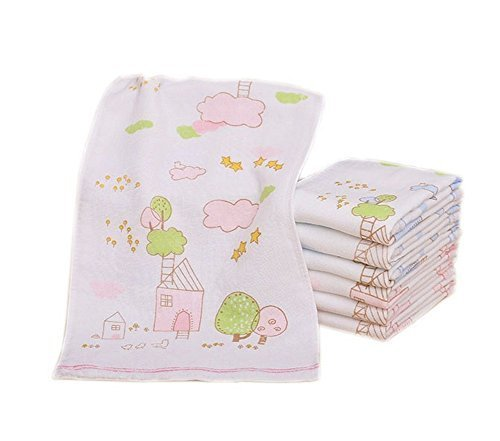 3 Packs Baby Girls Gauze Cotton Faceclothes