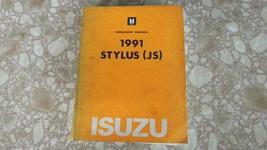 1991 Isuzu Stylus JS Workshop Electrical Troubleshooting Service Manual - $12.63