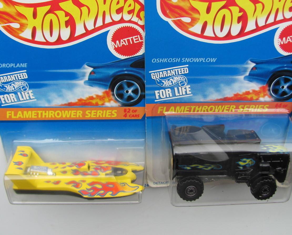 hot wheels 1996 flamethrower complete series 4 car set. Black Bedroom Furniture Sets. Home Design Ideas