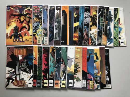 Lot 30 Batman Legends of the Dark Knight (1989) from #1-96 Annuals VF Very Fine