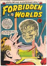 Forbidden Worlds Comic Book #25, ACG 1954 VERY GOOD+ - $48.30