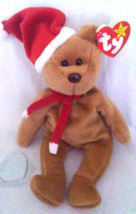 TY Beanie Babies Teddy Christmas PVC PELLETS Style # RARE ERRORS Retired - $800.00