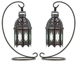 2-  Moroccan Tabletop Lanterns - $39.54