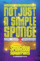 Spongebob Squarepants The Musical Poster New Tony Winner Art Print 24x36... - $13.84+